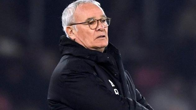 Fulham manager Claudio Ranieri looks dejected.(Action Images via Reuters)