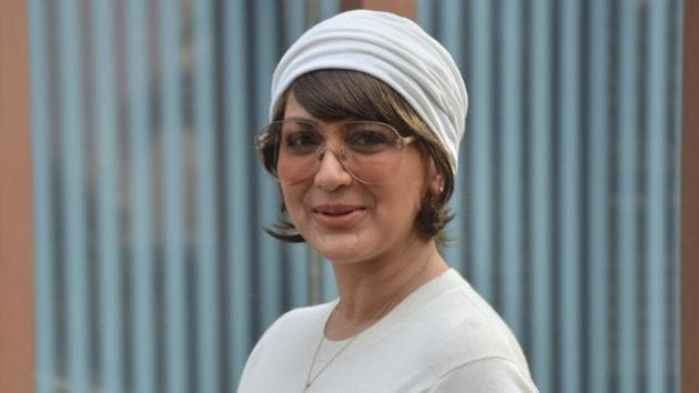 Sonali Bendre returned to India after spending close to six months in New York, undergoing treatment for cancer.(IANS)