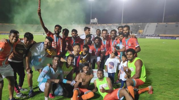 The season was not exactly a cakewalk for Chennai City FC(Chennai City FC Twitter handle)