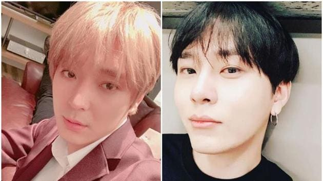 Yong Junhyung (left) and Choi Jong-hoon quit their respective bands.(Instagram)