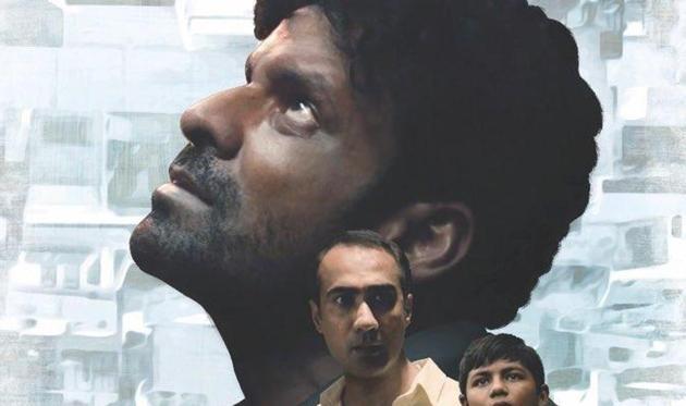 Manoj Bajpayee on a poster of Gali Guleiyan.