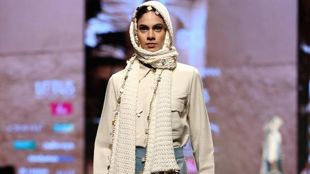 Diksha Khanna/Lotus Make-Up India Fashion Week AW' 2019