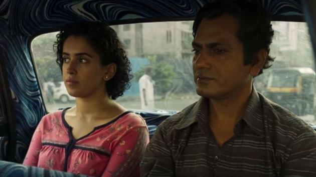 Photograph movie review: Nawazuddin Siddiqui and Sanya Malhotra in a still from Ritesh Batra's new film.