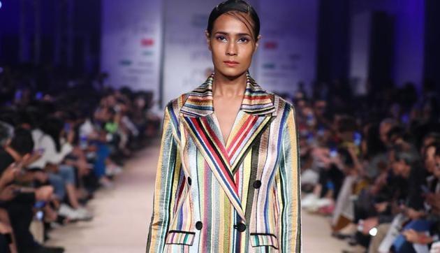 Rahul Mishra/ Lotus Make-Up India Fashion Week AW' 2019