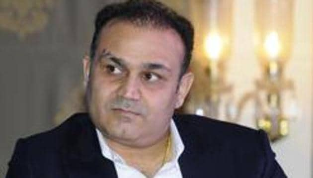 File image of Virender Sehwag(Anil Dayal/Hindustan Times)