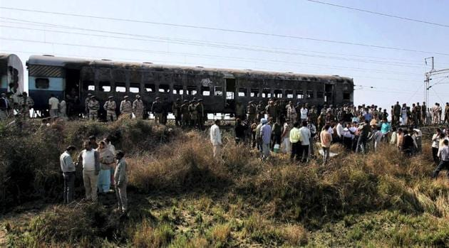 The hearing in the National Investigating Agency (NIA) court in the Samjhauta Express blast case could not take place as the lawyers were on strike. The case was adjourned to Monday, NIA officials said. (Satish Kaushik / PTI File)