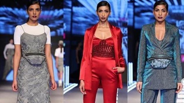 With over 20 exuberant ensembles, Namrata Joshipura presented a ravishing range of gowns, jumpsuits and pantsuits.