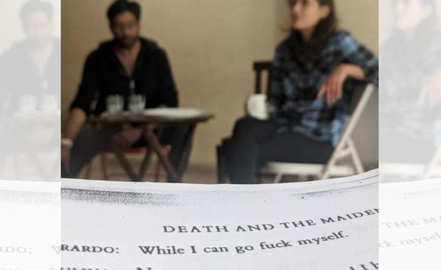 Rehearsals of Death and the Maiden are on in full swing