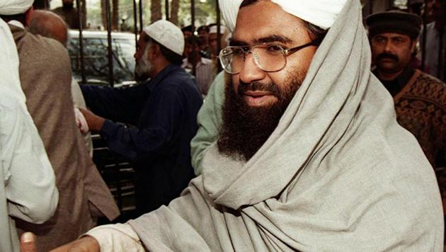 India will not cut a deal on the sanctioning of Jaish-e-Mohammed chief Masood Azhar by the United Nations Sanctions Committee(AP)