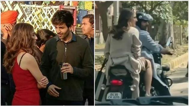 Sara Ali Khan and Kartik Aaryan have been shooting in Delhi for almost a week.