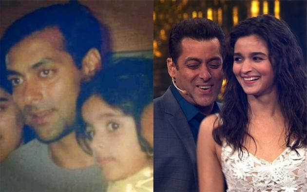 Salman Khan and Alia Bhatt will be seen in Sanjay Leela Bhansali's next film titled Inshallah.(Twitter)
