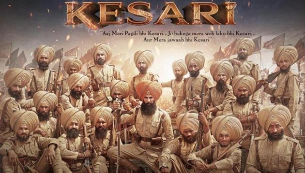 Akshay Kumar's Kesari is set to hit theatres on Holi.