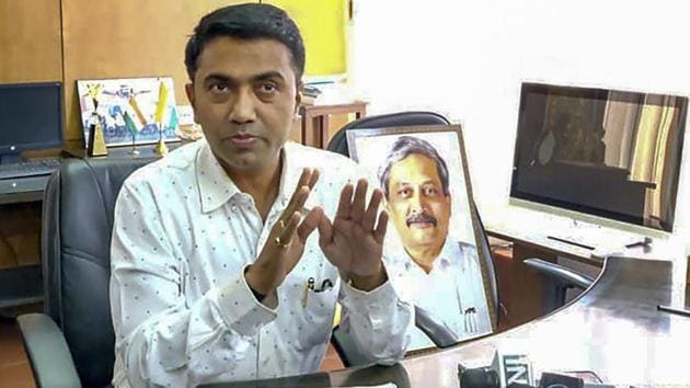 Chief Minister Pramod Sawant announced that school teachers in Goa would be trained to double up as counsellors to help arrest dropout rate in higher classes.(PTI Photo)