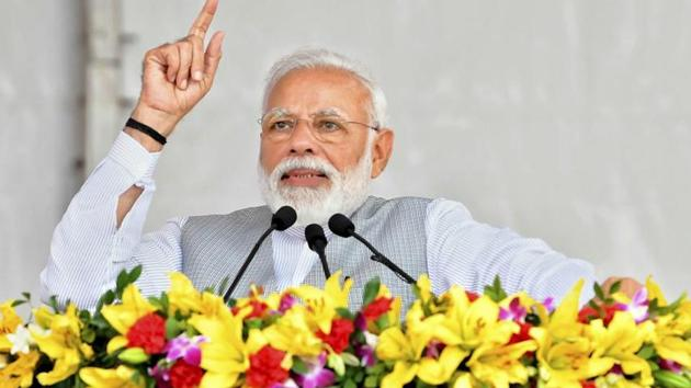 Seeking a second term in Prime Minister's office, Modi wrote in a blog that institutional insult was the Congress's way.(PTI File Photo)