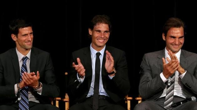 File image of Novak Djokovic, Rafael Nadal and Roger Federer.(Getty Images)