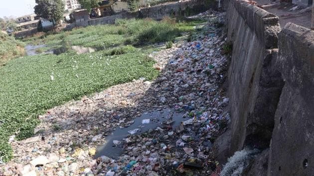 Nearly half of the operational Sewage Treatment Plants (STPs) in Delhi do not meet permissible water quality standards, a report prepared by the Central Pollution Control Board (CPCB) has revealed.(Photo by Rishikesh Choudhary/HT)