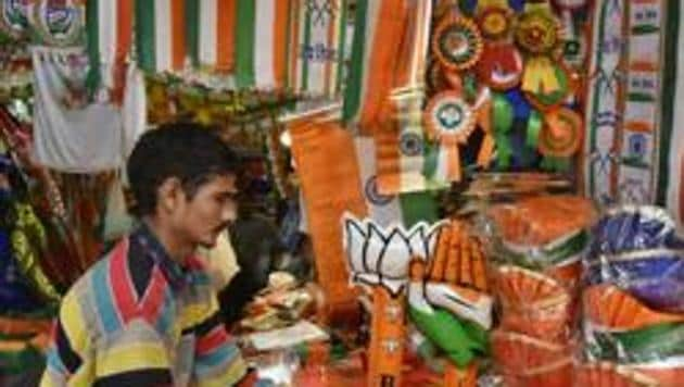 In 2014, most BJP MPs running afresh were re-elected (88.8%), against half of them five years earlier.(HT File Photo)