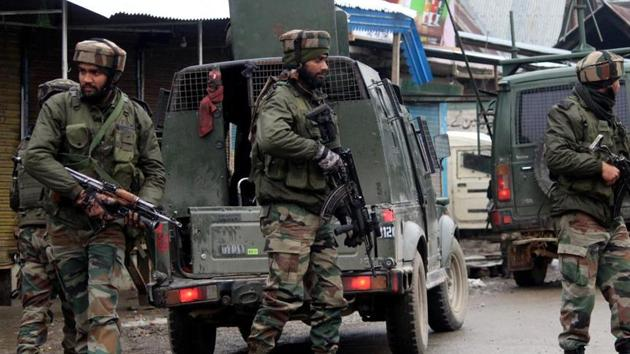 All educational institutions in Sopore were closed and mobile Internet services suspended as a precautionary measure.(Mohammad Waseem)
