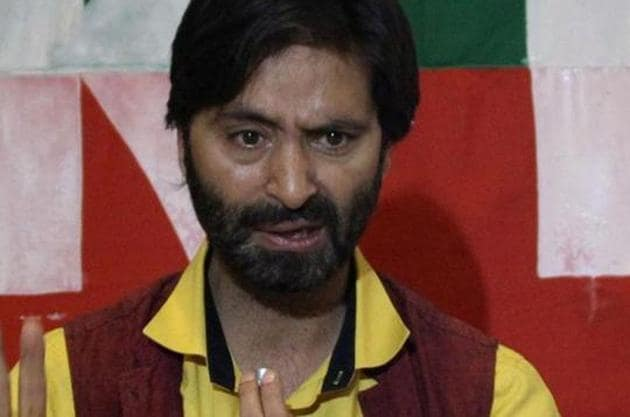 The J&K high court has reserved its judgment on a CBI plea for reopening three-decade-old cases in which Yasin Malik was an accused.(HT Photo)
