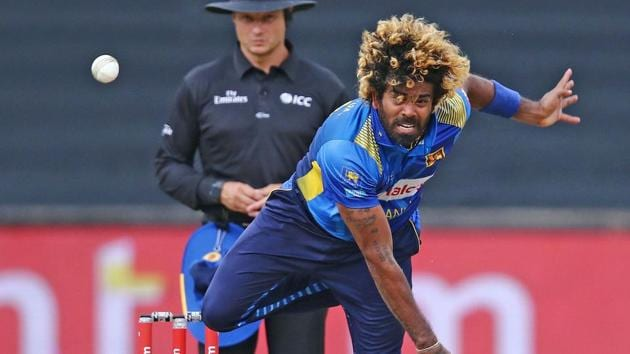Sri Lanka's Lasith Malinga in action during the recent ODI series against South Africa.(AFP)