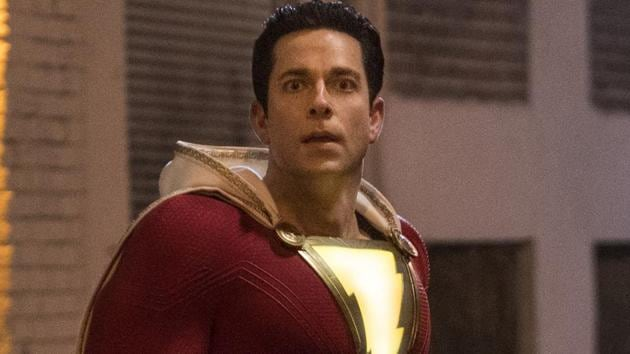 This image released by Warner Bros. shows Zachary Levi in a scene from Shazam!.(AP)