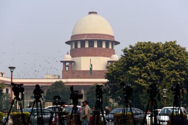 A view of the Supreme Court, in New Delhi.(Amal KS/HT PHOTO)