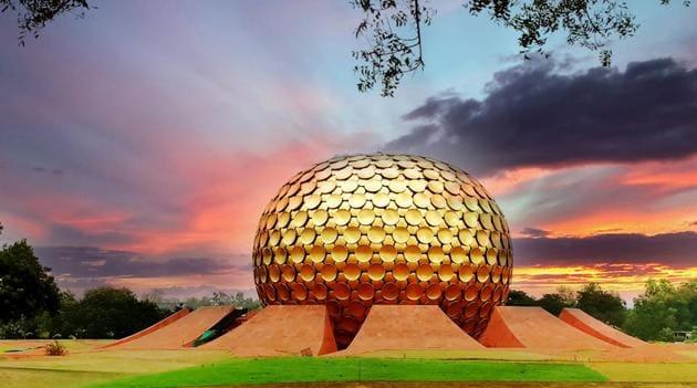 Matrimandir, Auroville.(Getty Images/iStockphoto)