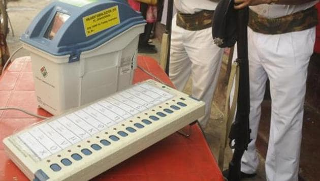 Outer Manipur, one of the two parliamentary seats in Manipur, will vote on April 18 and counting will be held on May 23.(HT file photo)