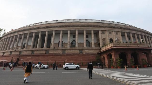 According to an analysis, there were 1,875 unique instances of questions raised in Lok Sabha about Muslims between 1999 and 2017.(Sonu Mehta/HT PHOTO)