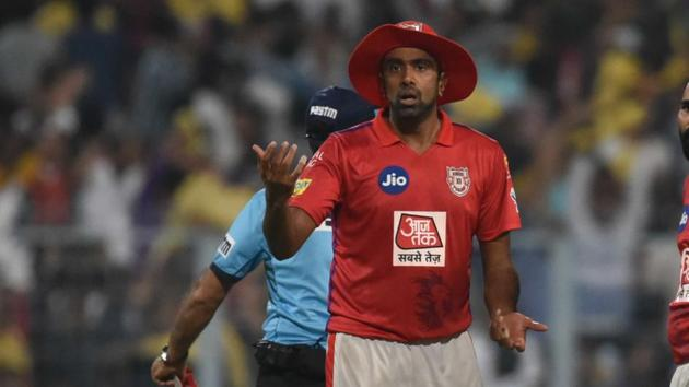 Kings XI Punjab captain Ravichandran Ashwin controversially ran out Rajasthan Royals' Jos Buttler.(Samir Jana/Hindustan Times)
