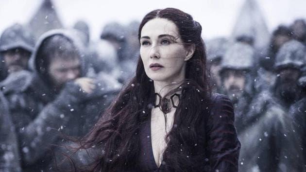 Carice Van Houten played Melisandre in Game of Thrones for eight seasons.