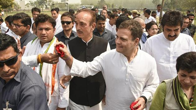 """""""I watched Narendra Modi's speech in which he promised to give Rs 15 lakh to every Indian. He said it two-three times...15 lakh, 15 lakh...I thought he is saying the right thing. The idea is correct that money must go the bank account of the poor. I grabbed this idea,"""" Congress president Rahul Gandhi said on the idea of minimum income guarantee scheme at a public rally in Haryana's Yamunanagar. (PTI)"""