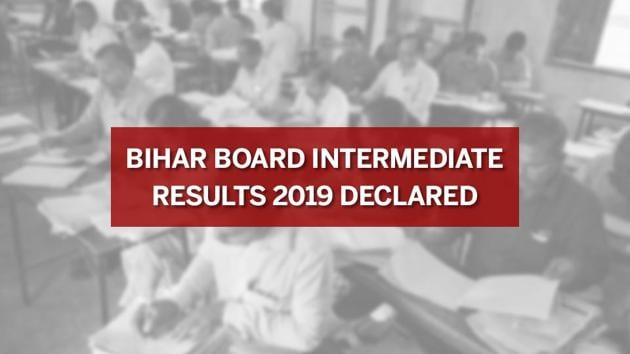 Bihar Board 12th Intermediate Result Out now: More than 13 lakh students had appeared for the BSEB intermediate exams 2019 held across 1339 centres in 38 districts of the state.(HT photo)