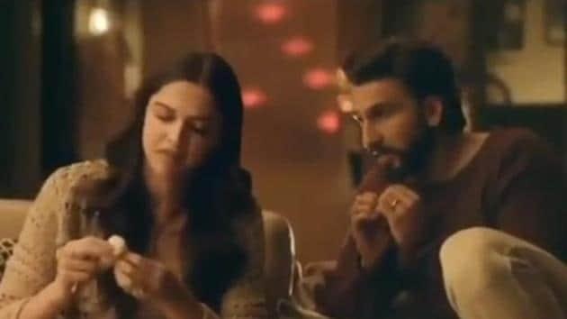 Deepika Padukone and Ranveer Singh feature in a new AC ad.(Instagram)