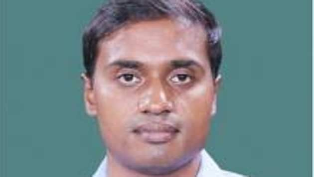Sitting Lok Sabha MP PV Midhun Reddy will contest again from Rajampet constituency.(HT PHOTO)