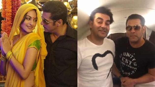 Arbaaz Khan and Salman Khan will shoot Dabangg 3 in Indore.