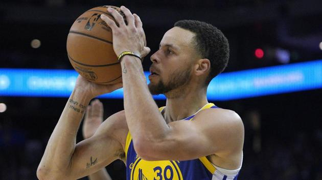File image of Golden State Warriors guard Stephen Curry.(AP)