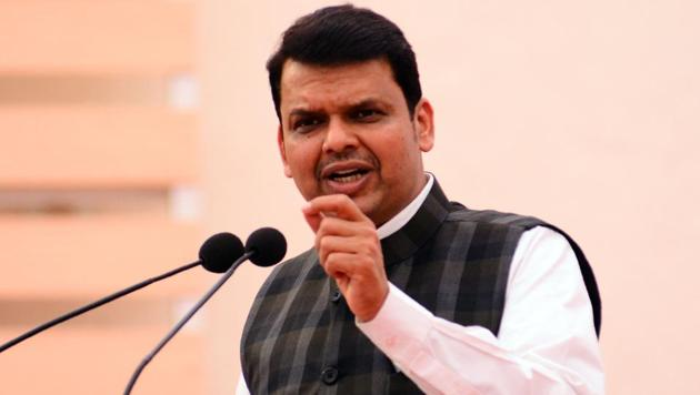 Chief minister Devendra Fadnavis is likely to accompany guardian minister Girish Bapat as he files his nomination for the upcoming Lok Sabha election from Pune seat on April 2.(HT FILE)