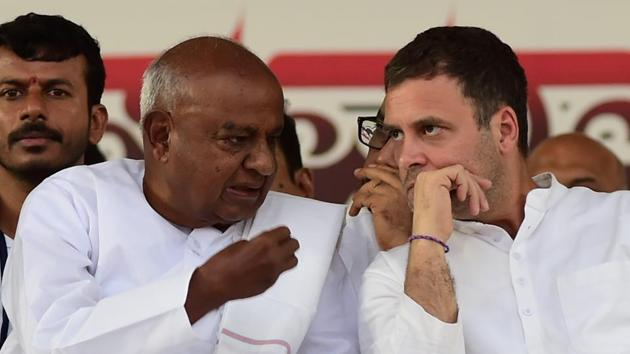 The Congress, maintained that move was aimed at strengthening its standing in the upcoming national elections.(PTI)