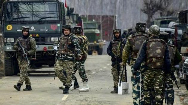 Four terrorists have been killed by security forces in a gun battle in Jammu and Kashmir's Pulwama district, an Indian Army spokesperson said.(Representative Image/AP file Photo)