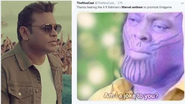 Twitter has a tonne of memes for AR Rahman's Marvel Anthem.
