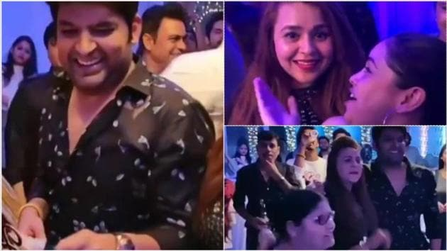 Kapil Sharma celebrated his birthday with his favourite people.