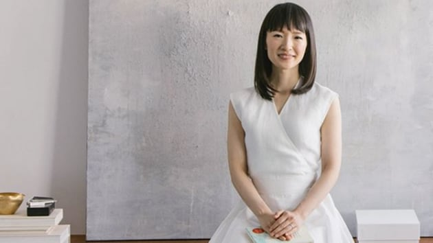 Tidying expert Marie Kondo's book and her new Netflix series focuses on how to deal with clutter.(Marie Kondo/Instagram)