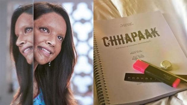 Deepika Padukone shared a new picture related to Chhapaak on her Instagram account.(Instagram)