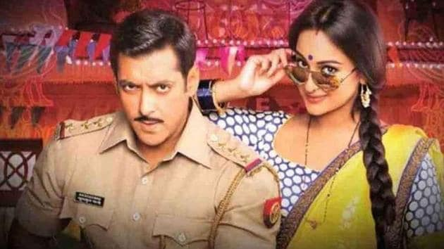 Salman Khan and Sonakshi Sinha have worked together in all Dabangg films.