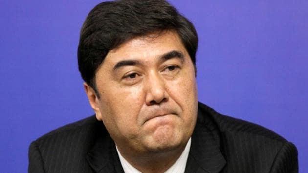 File photo of Nur Bekri, Chairman of Xinjiang Uygur Autonomous Region.(REUTERS)