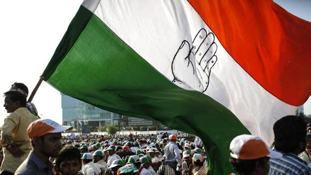 The Congress had released its first list on March 28 of 19 candidates for the Lok Sabha election to be held in April-May, which included a sitting MLA Ramnarayan Meena from Kota-Baran.(Reuters)