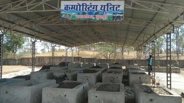 NGT'S state-level committee found the Dungarpur model of solid waste management 'most effective' in Rajasthan.(HT Photo)