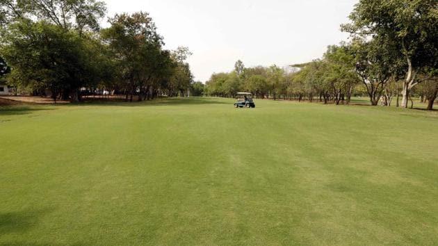 Poona Golf Course, Airport road, Yerwada.(RAHUL RAUT/HT PHOTO)
