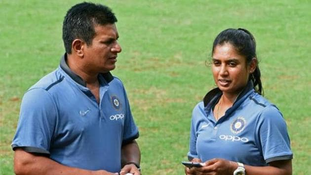 A file photo of former Indian women's cricket team coach Tushar Arothe.(PTI)